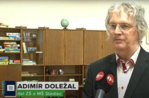 Ředitel školy ve Stádlci Vladimír Doležal